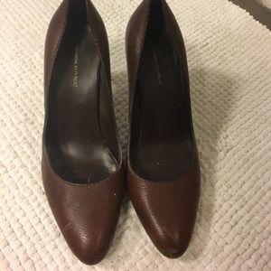 Banana Republic brown heels.