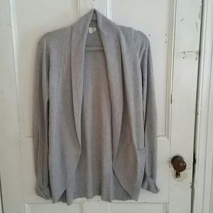 Cocoon lightweight cardigan with pockets