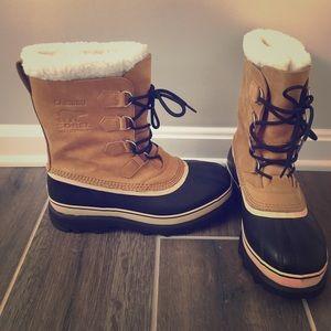 Sorel Other - LIKE NEW Men's Sorel Caribou snow boots size 10