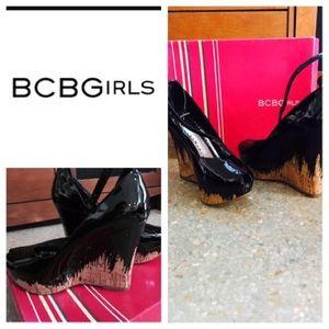 BCBGirls Shoes - BCBG RIS Black patent shoes