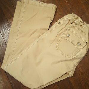 GAP Pants - Khaki Flare maternity pants