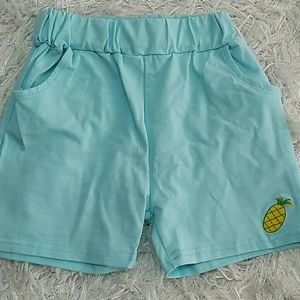 Other - Pineapple summer Shorts.  Kids