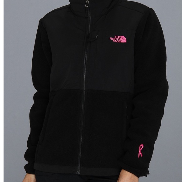 4d9d27d57 North face pink ribbon Denali jacket