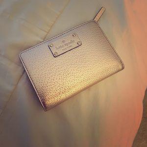 kate spade Handbags - Kate Spade Wellesley Tellie Wallet - rose gold!