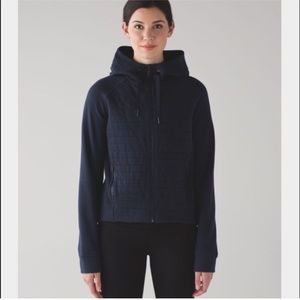 lululemon athletica Tops - Lululemon fleece be true black hoodie