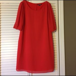 Gianni Bini Red shift dress