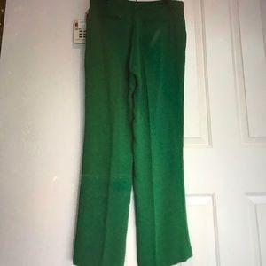 NWT Catherine Malandrino Green Pants