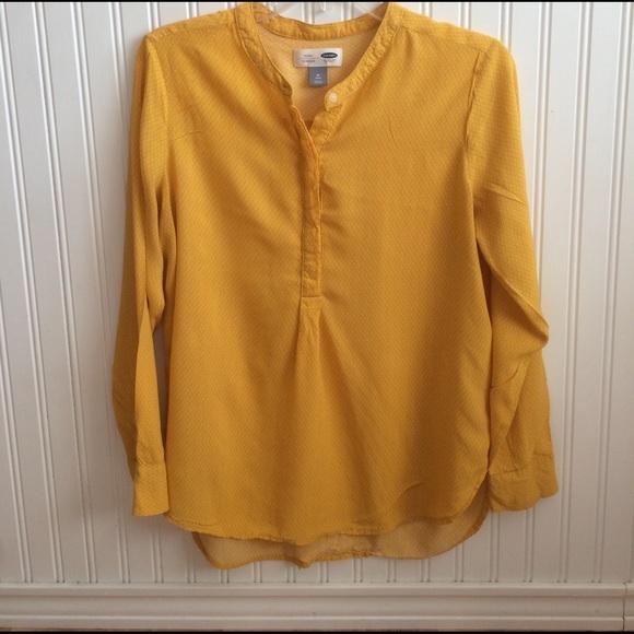 ca3964cf6d7d6 ... Mustard yellow dress shirt size M. M 58a1f7506a5830af0e00d804