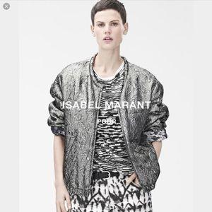 Isabel Marant pour H&M Jackets & Blazers - Isabel Marant Reversible Metallic Bomber Jacket