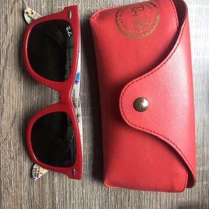 Ray-ban wayfarer sunglasses special edition