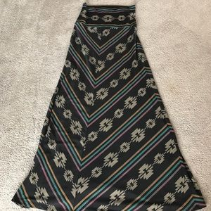 Mossimo size small maxi skirt