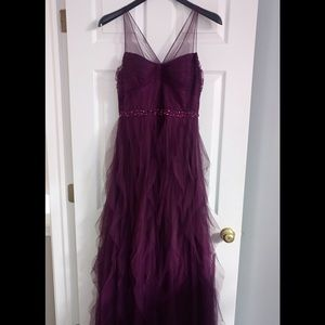 Adrianna Papell size 10 dress gown