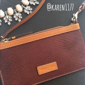 Dooney & Bourke Handbags - New Dooney & Bourke Leather Luxury Wristlet