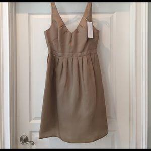 JCrew organza silk dress.  Size 10. New with Tags