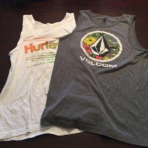 Volcom Other - Volcom/Hurley 2 pack tanks