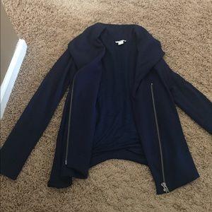 Helmut Lang asymmetrical jacket