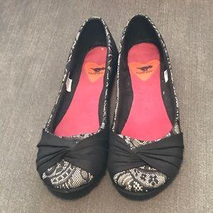 Rocket Dog Shoes - Lace ballet flats