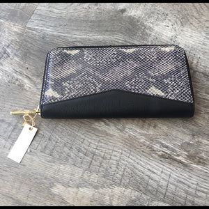 Aimee Kestenberg Handbags - Aimee kestenberg leather wallet snake cobra nwt
