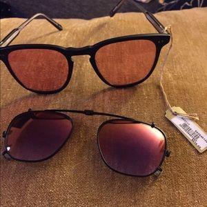 Garrett Leight Accessories - Garrett Leight Brooks sunglasses still with tag