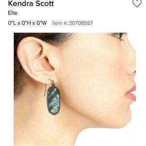 Kendra Scott Jewelry - Kendra Scott Elle gunmetal earrings-Brand New!