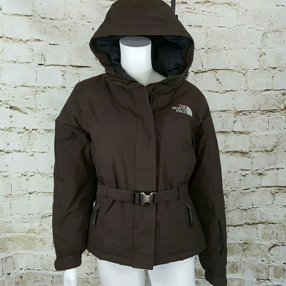 63ed8f06bb North Face 550 Goose down filled belted jacket. M 58a2191f291a357df60c443c
