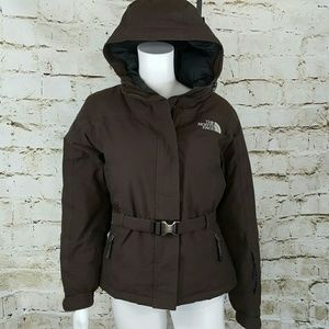 North Face Jackets & Blazers - North Face 550 Goose down filled belted jacket