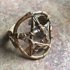 Pamela Love Jewelry - Pamela Love ✨ snake pentagram cuff
