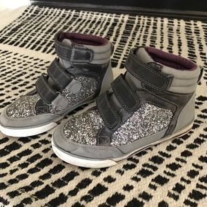 Hanna Andersson Other - Hanna Andersson Girls HiTop Sneakers