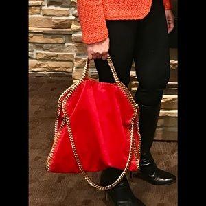 Stella McCartney Handbags - Stella McCartney fellbella fold over  bag.