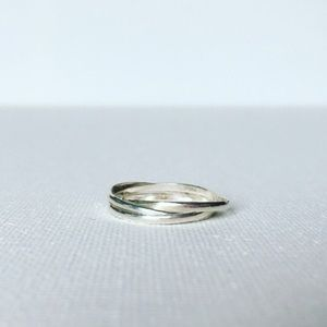 Jewelry - $15 Sterling Silver Interconnecting Ring