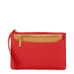 SR squared by Sondra Roberts Handbags - SALE! Faux Leather Pouch in Pouch