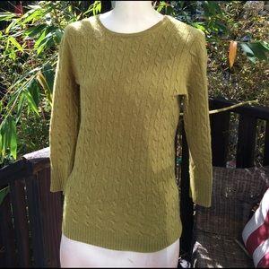 J.Crew 100% cashmere sweater size S. Elegant
