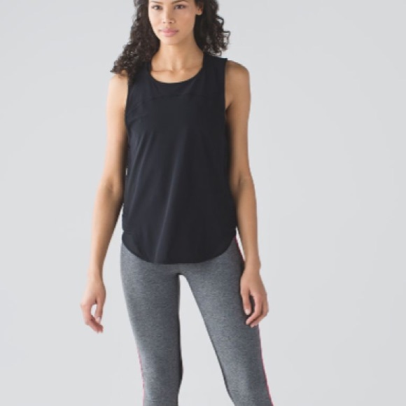 99f7ba8341 lululemon athletica Tops - Lululemon Making Moves Tank Black