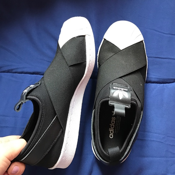11fe3a93359d Adidas Shoes - Adidas all star slip ons
