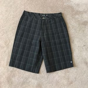 Ocean Current Other - Plaid shorts gray and green w33