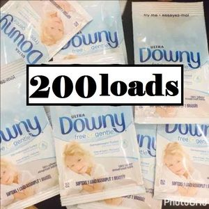 Other - 200x ULTRA DOWNY FREE & GENTLE FABRIC SOFTENER