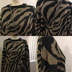 Plus size Vintage Sweater