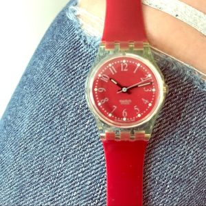 Swatch Accessories - Swatch 1991 Vintage Rote-Lei LK128