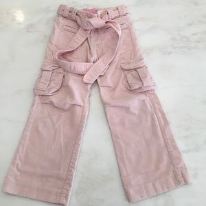 Other - Pink cordoroy pants