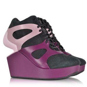 McQ Alexander McQueen Shoes - Alexander McQueen X Puma wedge sneaker NWOT