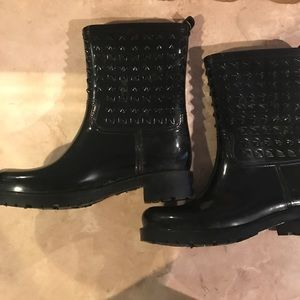Capelli of New York Shoes - cute Black Stud Fashionable ☔️ boots