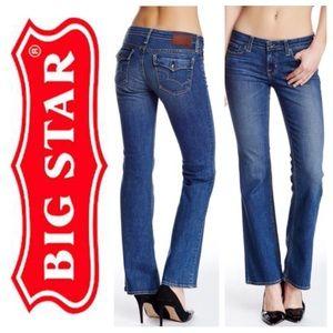 Big Star Denim - LIKE NEW!  Big Star low rise bootcut jean med-blue