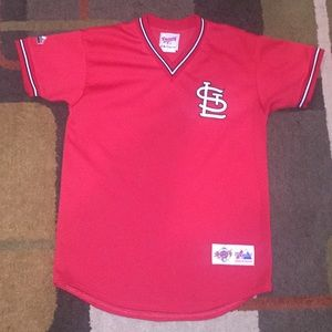 Majestic Other - 1980s boys XL Majestic Cardinals jersey