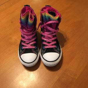 Converse Other - Kids pull on high top converse