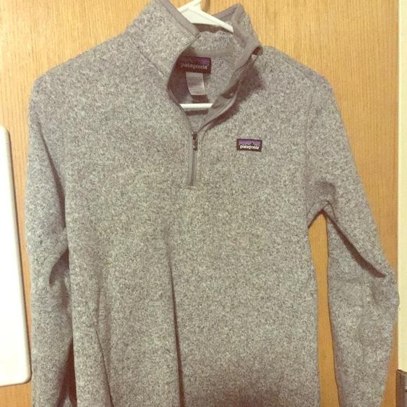 Patagonia Sweaters Womens Better Sweater 14 Zip Small Poshmark