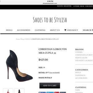 Christian Louboutin Shoes - CHRISTIAN LOUBOUTIN MEA CUPLA