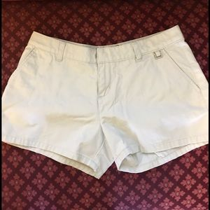 Split Pants - Short Khaki Shorts