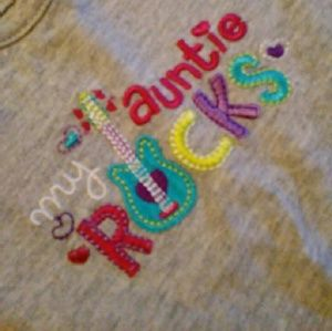 Carter's Other - 3 SET Bundle MY AUNTIE ROCKS, 24 months outfit