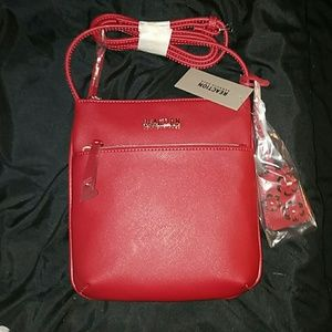 Kenneth Cole Reaction Handbags - *NWT* Red Kenneth Cole Reaction Crossbody