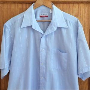 Manhatten Other - 🎈SALE🎈Vintage Manhattan Button Down Shirt